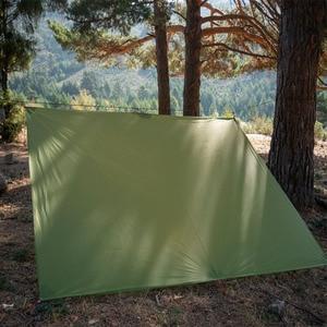 Image 2 - Flames信条超軽量タープ軽量ミニ太陽の避難所のキャンプマットテントフットプリント15Dナイロンシリコーン160グラムテンダパラカルロ