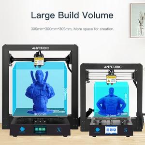 Image 3 - Anycubic i3 메가 X 새로운 3D 프린터 DIY 300*300*305mm 대형 인쇄 크기 imprimante 3d 그랜드 taille impressora