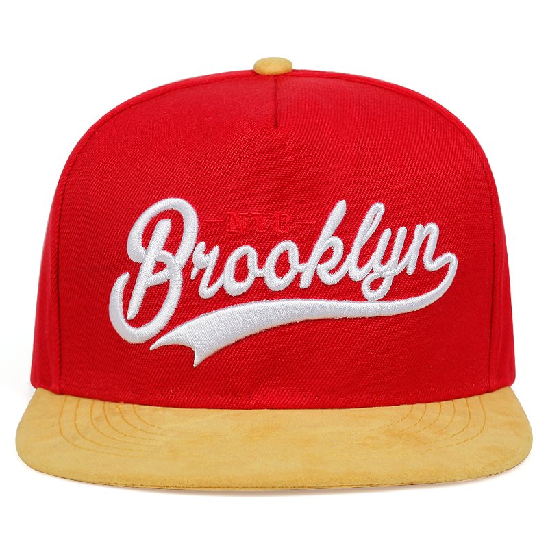 High Quality Brooklyn Letter Embroidered Flat Hat Fashion Street Hats Men And Women Universal Cap Outdoor Sports Caps
