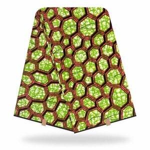 Настоящий воск, Анкара, африканская ткань с принтом, Оригинальная Ткань 2020, высокое качество, африканская ткань из 100% хлопка, африканская во...