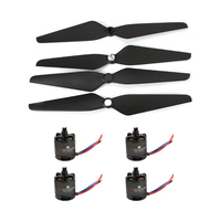 Hot 4 pcs Platinum 30A Pro 2 6S 30A Speed Controller ESC + 2216 880KV Motor and T1045 Propeller Kit for 450 Frame DIY RC Drone