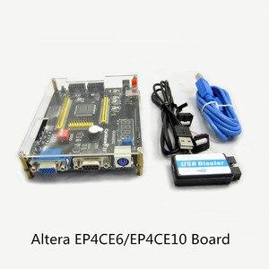 Image 2 - แบบพกพาชุดพัฒนา ALTERA Cyclone IV EP4CE6 EP4CE10 บอร์ดพัฒนา FPGA Altera NIOSII FPGA + USB Blaster