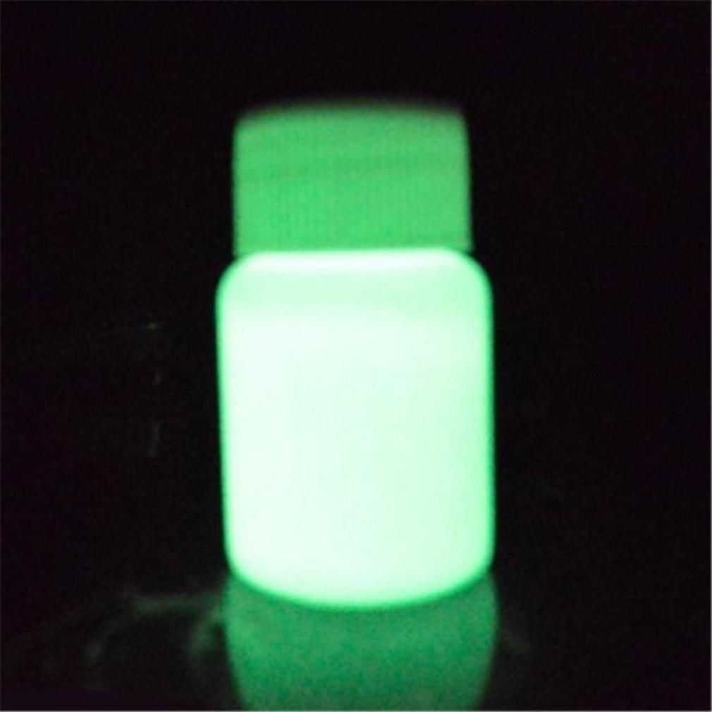 1pc 20g DIY Long-lasting Luminous Painting Coating Baby Art Glitter Phosphor Body Painting Pigment Powder Kids Glow In Dark Toys