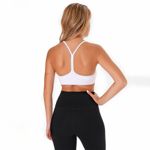 Nepoagym GRASS Women Yoga Bras Padded Sports Bra Push Up High Impact Gym Running Upbra