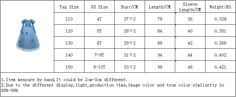 Z00123尺码表4-10T