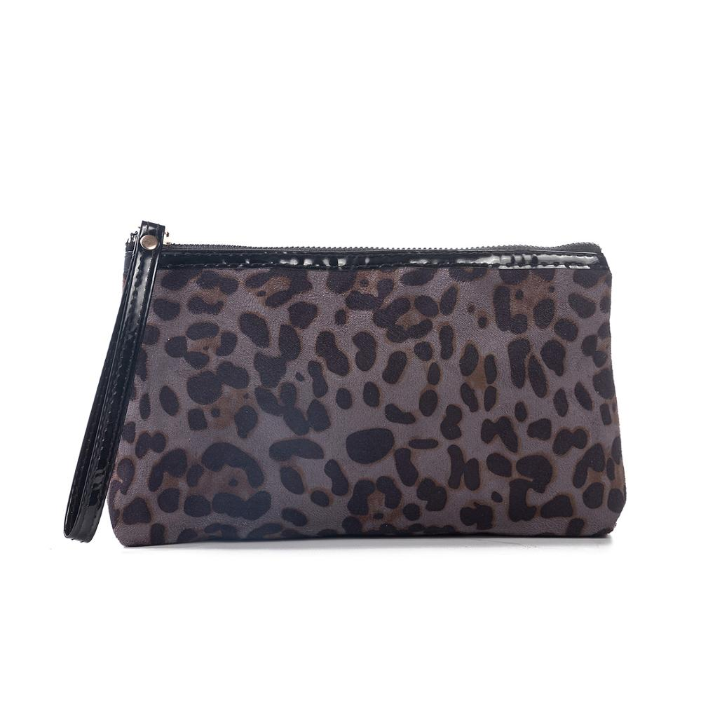 New Fashion Leopard Organizer Toiletry Bag Necessaries Designer Women Travel Cosmetic Bags Makeup Bag