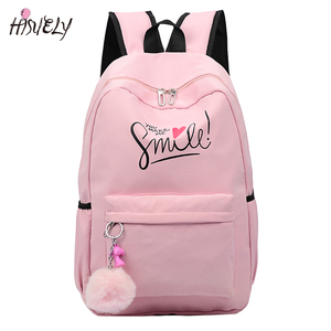 Image 1 - 2020 Preppy Style Fashion Cartoon Women School Bag Travel Backpack For Girls Teenager Stylish Laptop Bag Rucksack girl schoolbag