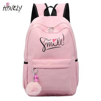 2020 Preppy Style Fashion Cartoon Women School Bag Travel Backpack For Girls Teenager Stylish Laptop Bag Rucksack girl schoolbag