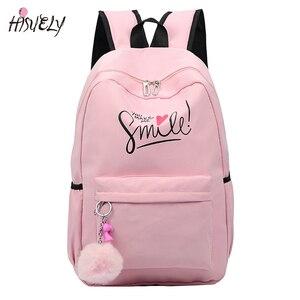 Image 1 - 2020 styl Preppy moda Cartoon kobiety tornister plecak podróżny dla dziewczyn nastolatek stylowa torba na laptopa plecak dziewczyna tornister