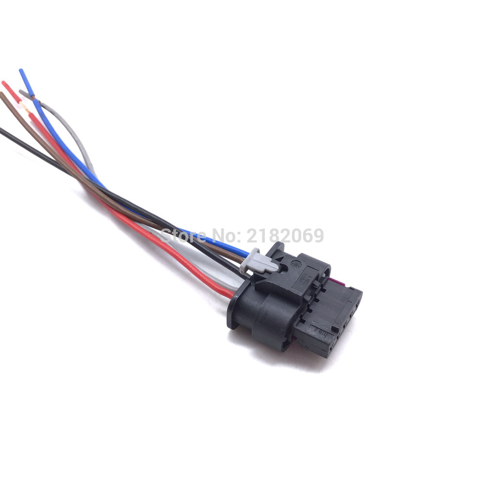 Mass Air Flow Sensor Maf Connector Pigtail 5-Pin Plug With Cable For Jaguar