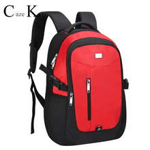 business laptop backpack with external USB interface travel waterproof college