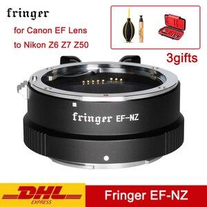 Image 1 - Fringer EF NZ Anello Adattatore Fotocamera EFS NZ Messa a Fuoco Automatica Af Adattatori per Obiettivi Fotografici per Canon Ef Lens per Nikon Z6 Z7 Z50 EF NK Z Montaggio