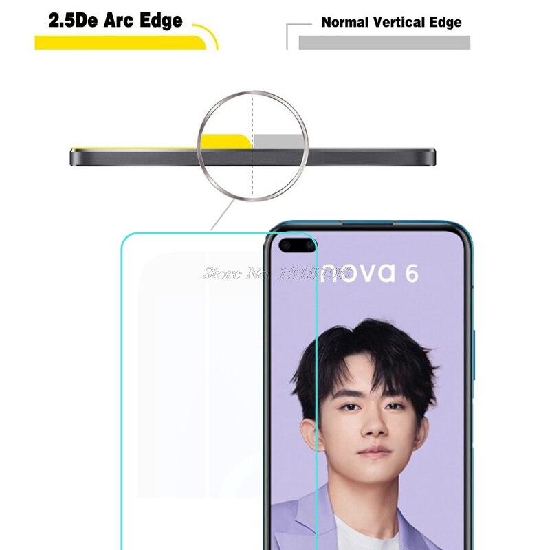 Huawei Nova 6 5G ապակե պաշտպան Huawei Nova 6 խիտ - Բջջային հեռախոսի պարագաներ և պահեստամասեր - Լուսանկար 3