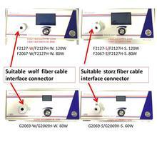 אנדוסקופ אור מקור כולל סטרייקר/זאב מחבר Storz/אולימפוס/סיבי כבל אור מקור/FXX