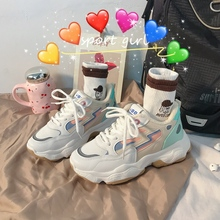 chunky shoes casual women Fashion sneakers Casual Shoes Student Summer Sneakers woman Vulcanize