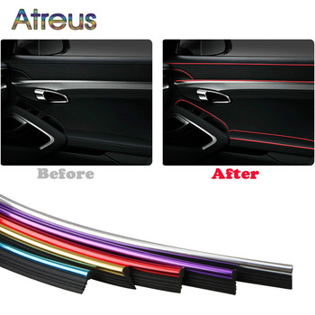 Car Styling Door Dashboard Air Outlet Mouldings Trims For BMW E46 E90 E60 E39 E36 F30 F10 F20 X5 E70 E53 M G30 E91 E34 F31 E87 image