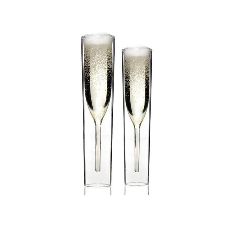 2 PCS /Set Crystal Wedding Toasting Champagne Flutes Glasses Drink Cup Party Marriage Wine Decoration Cups For Parties Gift Box 9