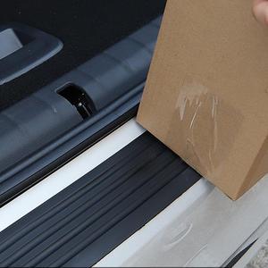 90cm or 104 cm Car Trunk Protection Strip Gum Bumper Anti-Collision Anti-Scratch Tailgate Trim Door Sill Protector 1 Set