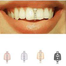 2020 1pc novo hip hop ouro dentes topo de cristal grills boca dental do punk dentes bonés cosplay festa dente rapper engraçado jóias presente