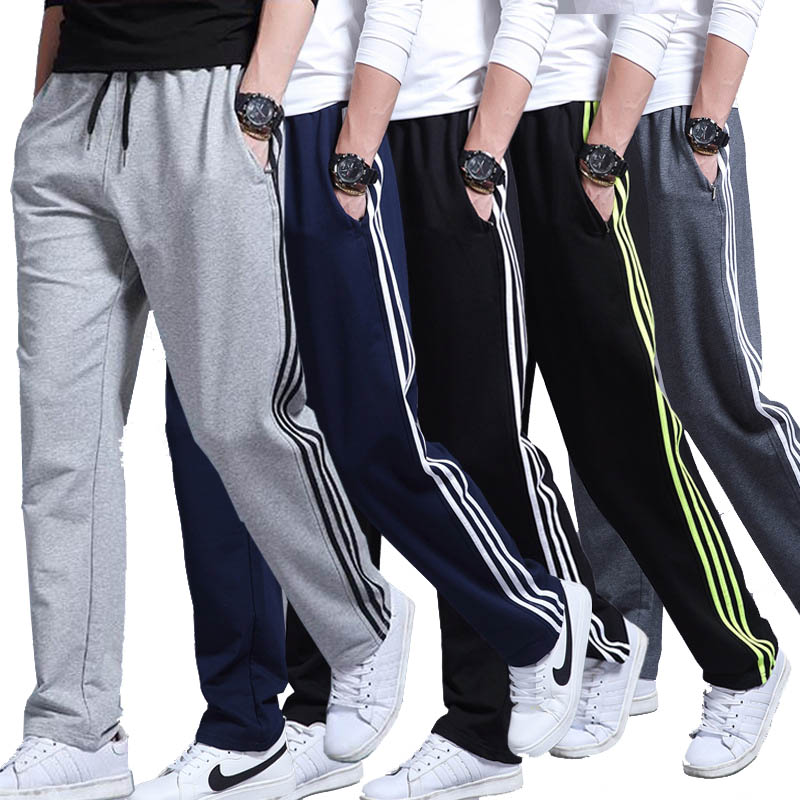 2020 Mens Casual Sports Pants Loose Version Fitness Running Trousers Summer Workout Pants Sweatpants