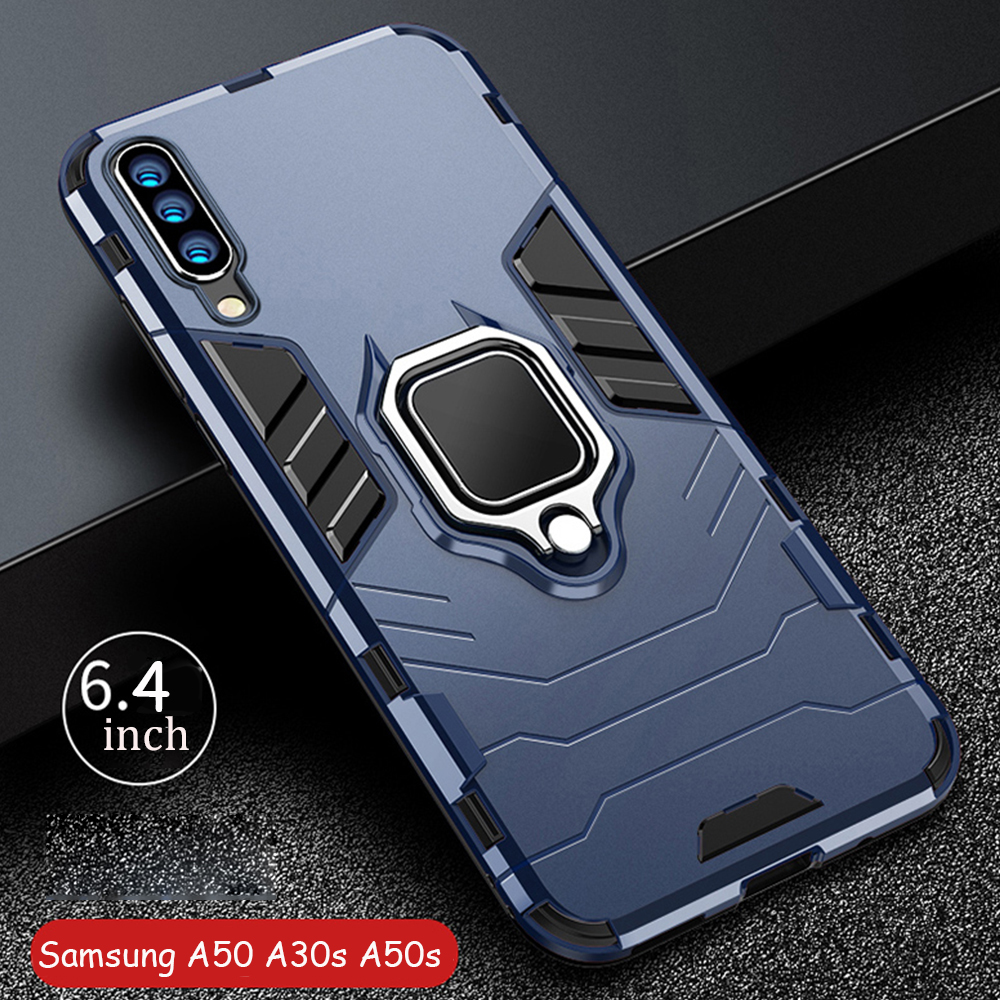For <font><b>Samsung</b></font> <font><b>Galaxy</b></font> A20s A30s A50s <font><b>A70s</b></font> <font><b>Case</b></font> Armor PC Cover Metal <font><b>Ring</b></font> Holder Phone <font><b>Case</b></font> For <font><b>Samsung</b></font> A 30s 50s 70s Cover Bumper image