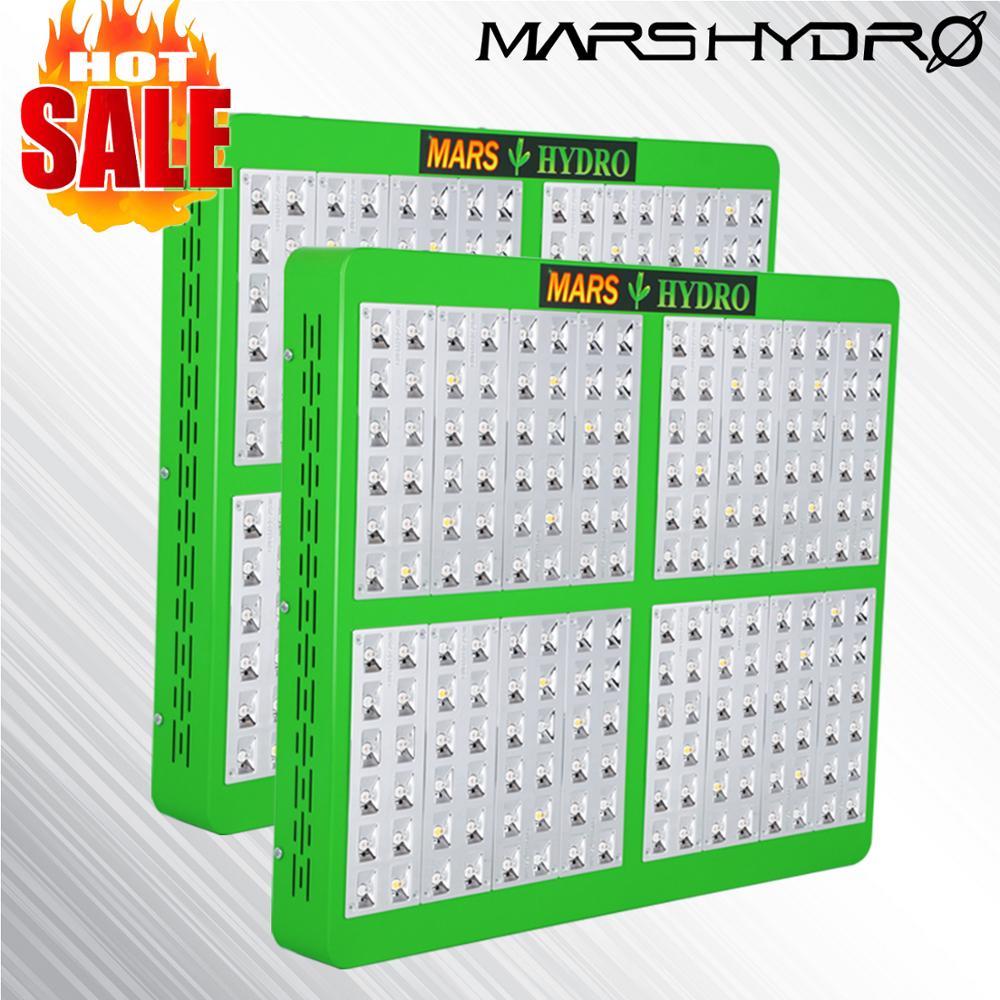 2PCS Mars Hydro Reflector 1000W LED Grow Light Full Spectrum Panel Veg Flower For Medical Indoor Plant