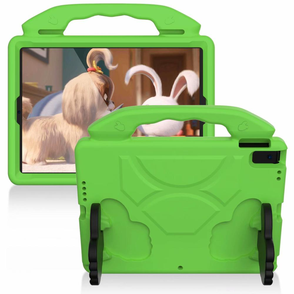 green Green Thumb Kids Friendly Safety Cover For iPad 10 2 2019 7th Generation A2200 A2198 A2232 Case