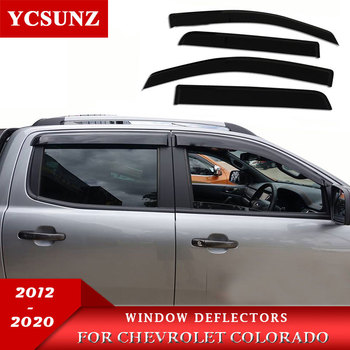 weather shade  window visor For Holden Chevy Colorado 2012-2019 DOUBLE CAB