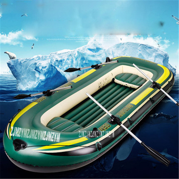 Double Adult Inflatable Boat Super Thickening PVC Inflatable Rowing Boat 230*130*36CM Inflatable Rowing Boat with Spare Parts фото