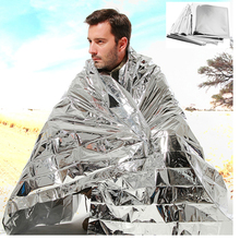 Outdoor First Aid foil blanket Camping survival Space Emergency Blankets waterproof military Rescue hiking self defense outdoor thermal survival blanket tourism camping rescue blanket emergency tactical first aid foil space military thermal mantle