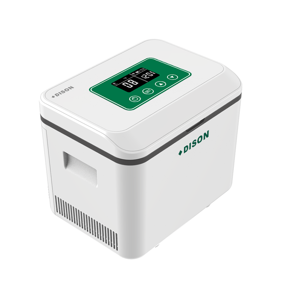 Auto Fridge Diabetes Voyage Clinical Mini Fridge With Freezer Portable Insuline Vaccine Blood Refrigerator Insuline Cooler Box
