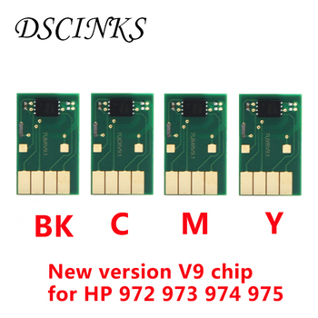 V9 ARC chip For HP PageWide 352dw 377dw 452dw 452dn 477dw 477dn 552dw 577dw printer New version chip for HP 972 973 974 975 for hp 973xl ink cartridge 973xl ink for hp pagewide mfp 477dn dw 552 452dn dw pro 352 dn dw 377dn dw 577dw printer 973x 973