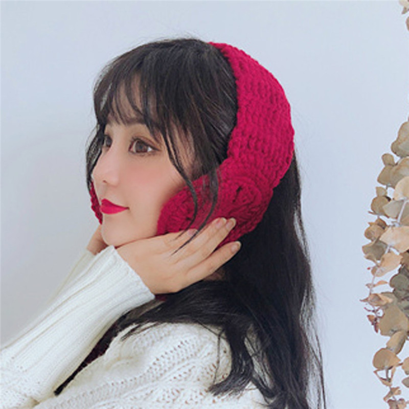 New Ear Muffs Girls 2019 Ladies Women Ear Muffs 2 In 1 Scarf Earflap Winter Autumn Warm Plush Ear Muffs Cute INS Cartoon Fashion