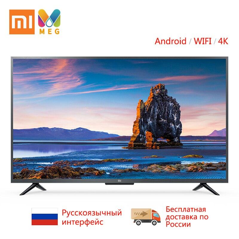 Xiao mi mi TV Android Smart TV televisão 4S 43 polegadas QFHD 4 Completo K HDR Aparelho de TV de Tela WI-FI GB + 8 1GB de Áudio Dolby