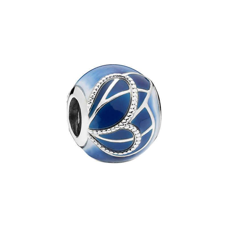 YANHUI 2020 חדש עיצוב מקורי 925 כסף סטרלינג חרוזים קסמי תליוני Fit מקורי קסמי צמידי DIY מתנה תכשיטי C011