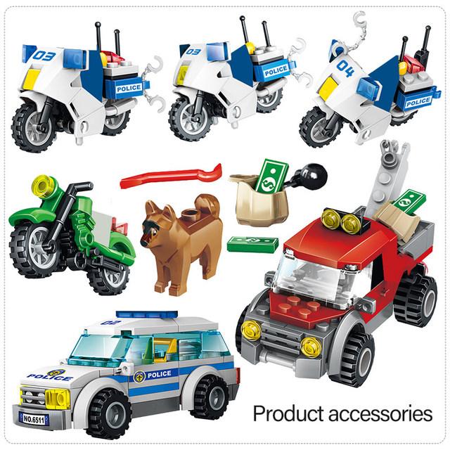 1397PCS Technic City Police Station Building Blocks Swat Blocks Military Team Truck Police Truck Bricks Toys for Children Boys