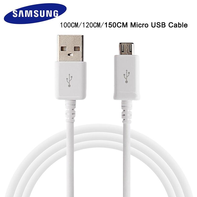 Оригинал, Samsung, быстрое зарядное устройство micro usb кабель 1/1.2/1.5 м 2A линия передачи данных для SAMSUNG Galaxy S6 S7 Edge Note 4/Note 5 J4 J6 J5 A3 A5 A7