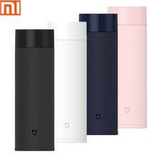 Original xiaomi mi maison eau tasse thermos simple mode étudiant affaires bureau surface beauté tasse 4 couleur voyage portable