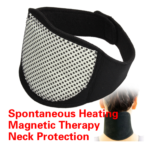 1 Pcs Tourmaline Magnetic Therapy Neck Massager Cervical Vertebra Protection Spontaneous Heating Belt Body Massager