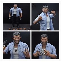 Burning Soul 1/6 Hugh Jackman Wolverine Logan Full Set Figures Angry Version Head&Body&Clothes and Accessories Gifts Collections charlotte lamb body and soul