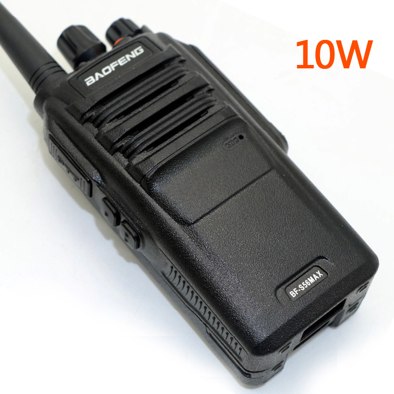 Baofeng BF-S56 MAX Walkie Talkie UHF 400-480MHz 10W IP67 Waterproof CB Radio 16CH VOX BFS56MAX Transceiver For Contruction