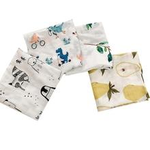 Бамбуковое хлопковое детское одеяло s, мягкое детское одеяло для новорожденных, муслиновое Пеленальное Одеяло для кормления, тканевое полотенце, шарф, детские вещи, 60*60 см