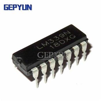 10 pces lm339n lm339 dip14 dip quad única fonte co gepyun