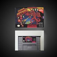 Süper Metroided   RPG oyun kartı pil tasarrufu abd versiyonu perakende kutusu