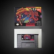 スーパーmetroided rpgゲームカードバッテリーセーブ米国版リテールボックス