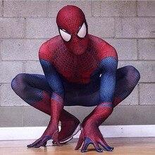Хэллоуин Косплэй классический чрезвычайных 1 костюм Человека-паука, Косплэй многосекционный комбинезон необыкновенный 2 костюм Человека-паука