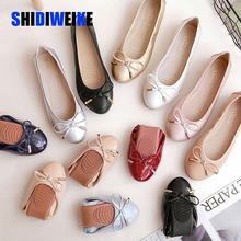 New Women Flats Shoe Casual PU Leather R