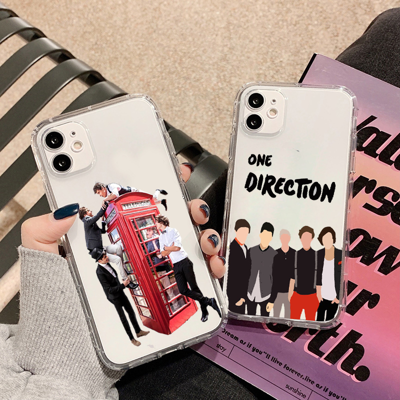 GYKZ One Direction Louis Tomlinson Clear Phone Case For IPhone 11 ...