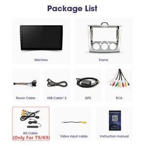 Image 5 - JMCQ Radio Multimedia con GPS para coche, Radio con reproductor, WiFi, 9 pulgadas, 2 Din, 4G +, Android 2004, unidad de navegación, 2 Din, para Ford Focus Exi MT AT 2011 8,1