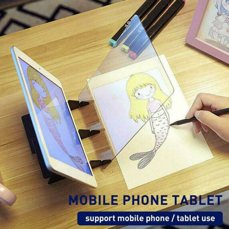 Children Kids Optical Drawing Projector Painting Tracing Board Sketch Table Kids Drawing Toys Drawing Projector Board